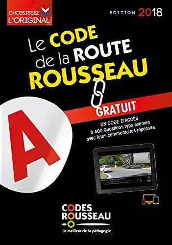 2709514230 Code Rousseau De La Route B 2018