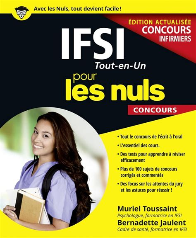 2754088431 Ifsi Tout En Un Pour Les Nuls Concours Edition 2017