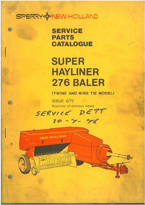 276 New Holland Manual