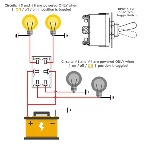 3 Way Toggle Switch Wiring Diagram For Headlight