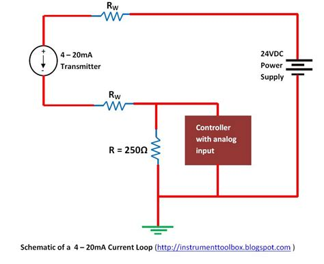 3 Wire 4 20ma Wiring Diagram Schematic