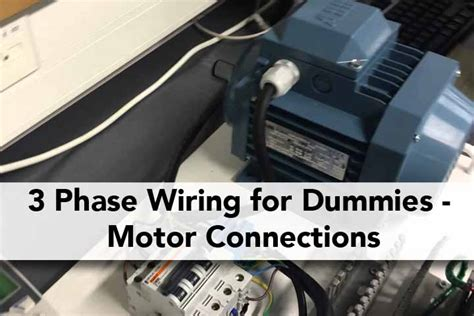 3 Phase Wiring For Dummies