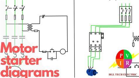 3 Phase Motor Start Stop Wiring Diagram