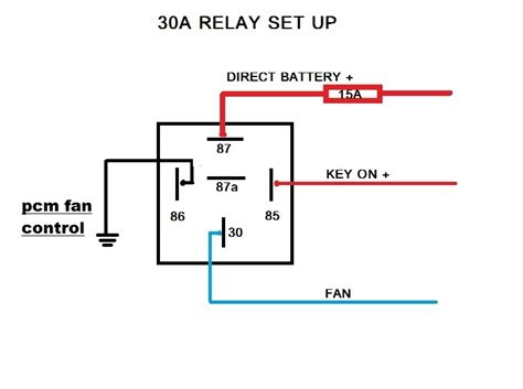 30 Amp Automotive Relay Wiring Diagram