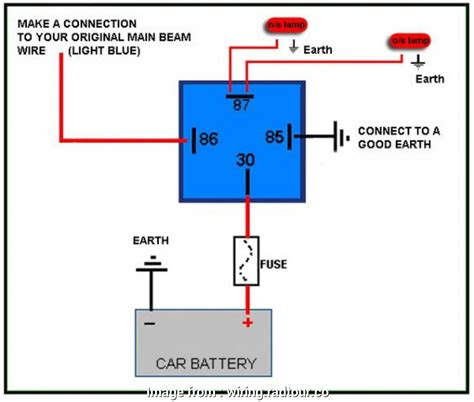 30 Automotive Relay Wiring Diagram