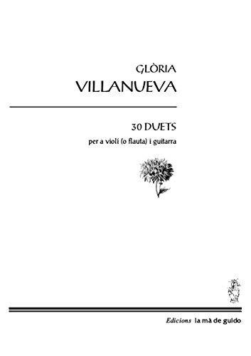 30 Duets Per A Violi O Flauta I Guitarra Catalan Edition
