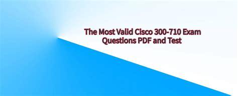 300-710 Valid Mock Test
