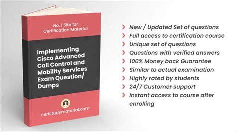 300-815 Relevant Exam Dumps