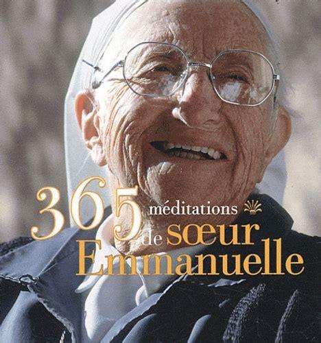 365 Meditations De Soeur Emmanuelle