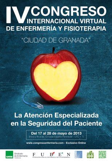 4º Congreso Internacional Virtual de Enfermería y Fisioterapia Ciudad de Granada Del 17 al 28 de Mayo 2013:
