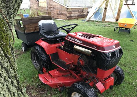 417 A Wheel Horse Tractor Manual