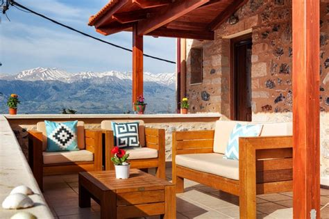 Villa Eleonas Stone Built Villa With Private Pool Greece