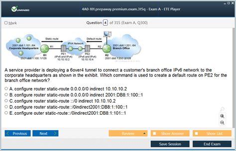 4A0-C03 Online Tests