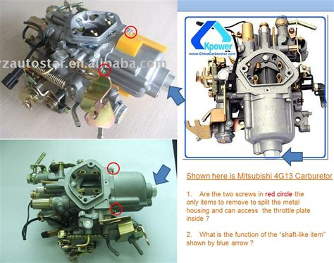 4g13 Engine Carburator Service Manual