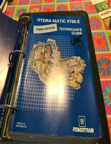 4t60 Repair Manual