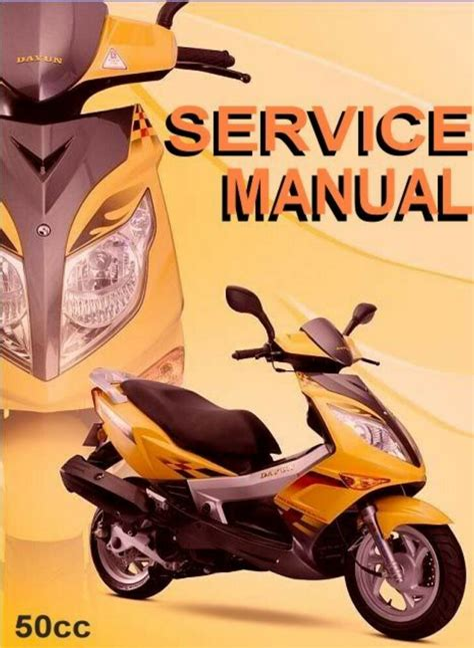 50cc Chinese Scooter Repair Manual