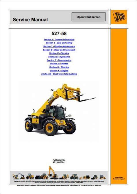 527 Jcb Parts Manual