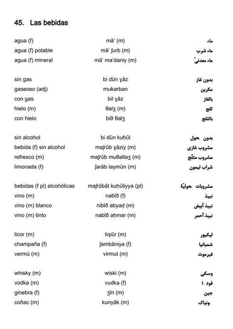 55000 Espanol Arabica Arabica Espanol Vocabulario