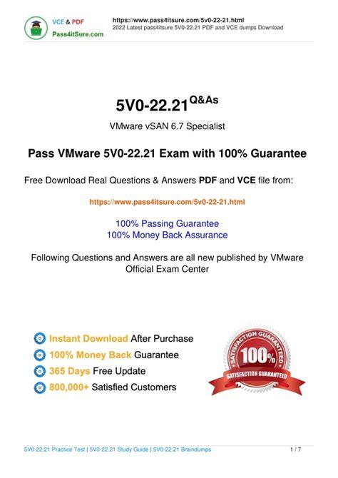 5V0-22.21 Vce Exam