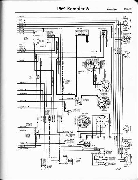 64 Rambler Wiring Diagram Schematic