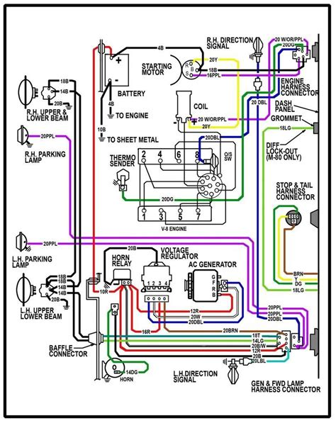66 Chevy C10 Wiring Diagram