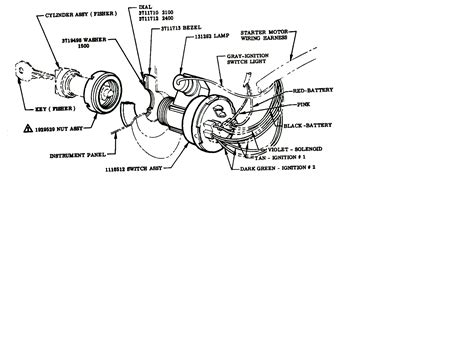 72 Chevy Ignition Switch Wiring Diagram
