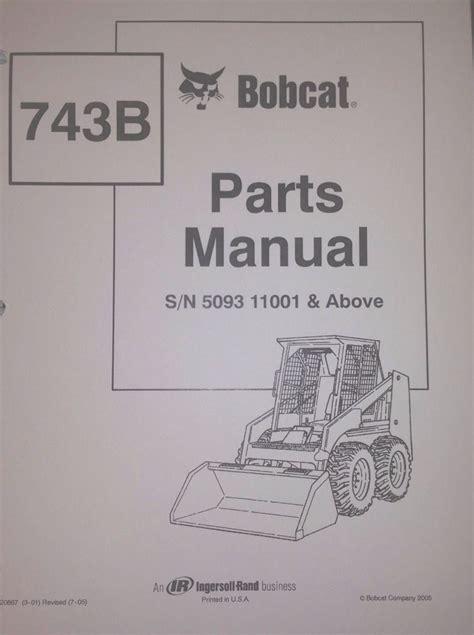 743 Bobcat Parts Manual
