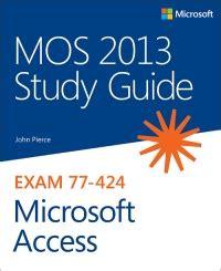 77-424 Study Materials