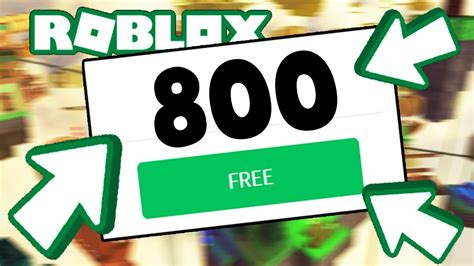 5 Things About 800 Robux For Free