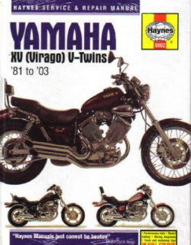 81 Yamaha Virago Haynes Manual