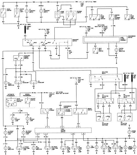 84 Trans Am Wiring Diagram