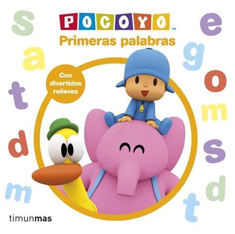 8408121626 Pocoyo Primeras Palabras Libro Con Relieve Libros Con Relieve