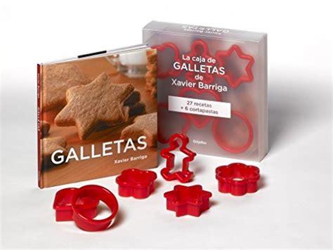 8425349281 La Caja De Galletas De Xavier Barriga Incluye Seis Moldes Sabores