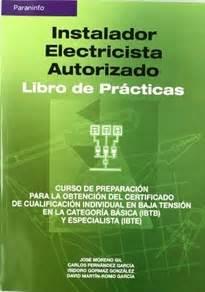 8428328668 Instalador Electricista Autorizado Libro De Practicas