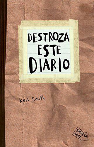 8449327857 Destroza Este Diario Libros Singulares