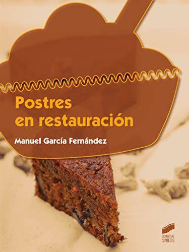 8490771421 Postres En Restauracion Hosteleria Y Turismo