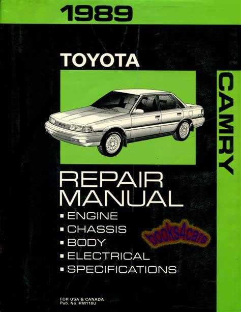 89 Camry Service Manual