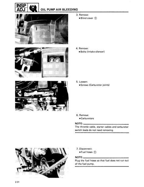 89 Yamaha Exciter 570 Manual
