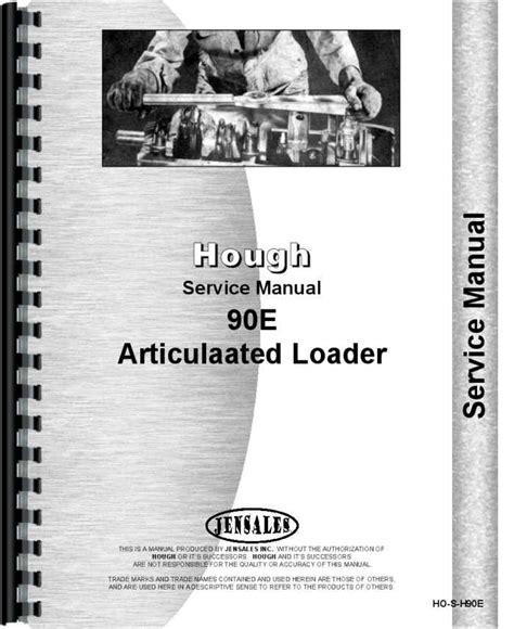 90e Hough Loader Parts Manual