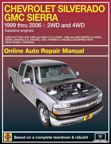 93 Gmc Sierra Repair Manual