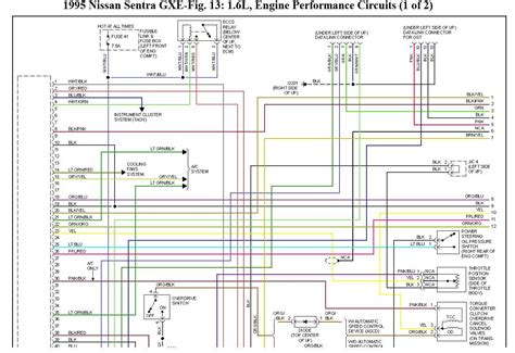 94 Sentra Wiring Diagram