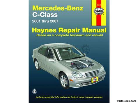 97 Mercedes C280 Repair Manual