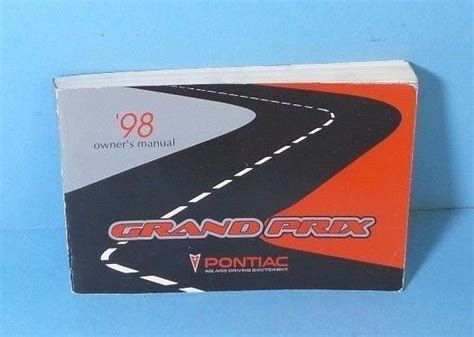 98 Pontiac Grand Prix Repair Manual