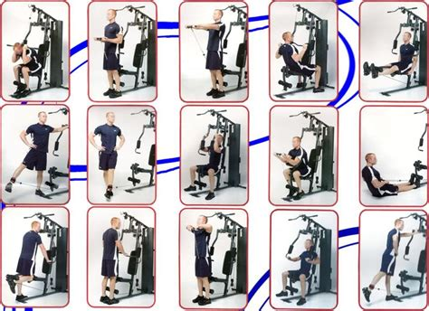 988 Marcy Home Gym Exercise Guide