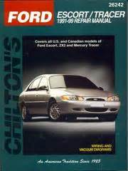 99 Ford Escort Owners Manual