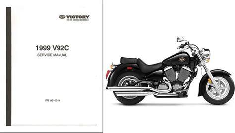 99 Victory V92c Manual