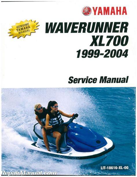 99 Waverunner 760 Xl Service Manual