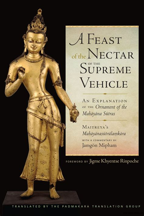 A Feast Of The Nectar Of The Supreme Vehicle An Explanation Of The Ornament Of The Mahayana Sutras English Edition