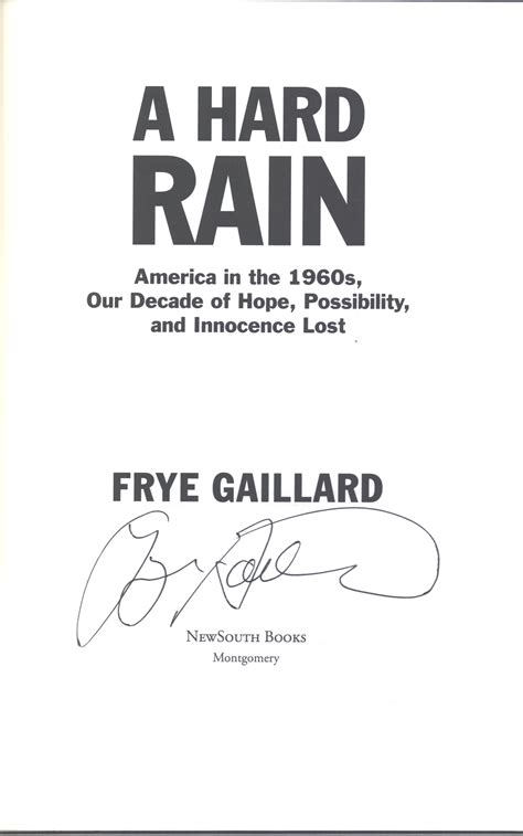 A Hard Rain America In The 1960s Our Decade Of Hope Possibility And Innocence Lost