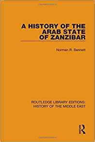 A History of the Arab State of Zanzibar (Routledge Library Editions: History of the Middle East)